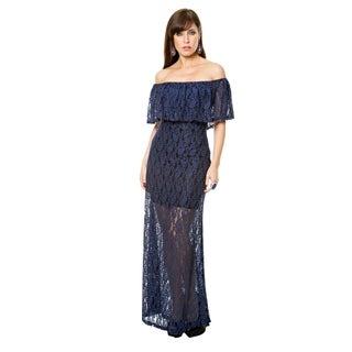 Sara Boo Hera Lace Overlay Dress