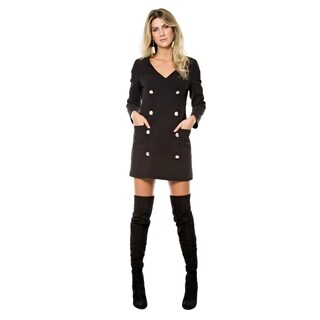 Sara Boo Button Front Dress