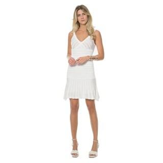 Sara Boo Textured Tricot Dress