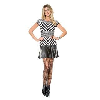 Sara Boo Duo Tricot - Vegan Leather Dress
