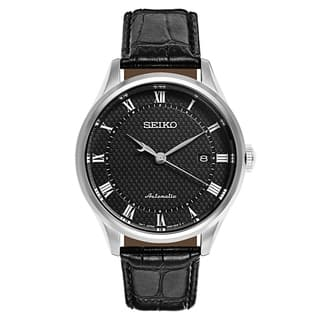 Seiko Dress SRPA97 Automatic Movement Men's Watch|https://ak1.ostkcdn.com/images/products/18019244/P24188048.jpg?impolicy=medium