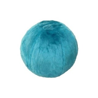 Turquoise Exercising Soft Ball with Slipcover & Hand Pump Kit
