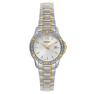 Seiko Crystal Dress SUR718 Women's Watch