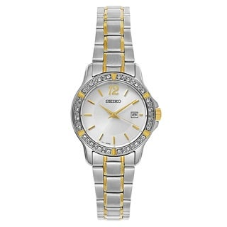 Seiko Crystal Dress Womenu0027s Watch  sc 1 st  Overstock.com & Womenu0027s Watches | Find Great Watches Deals Shopping at Overstock.com