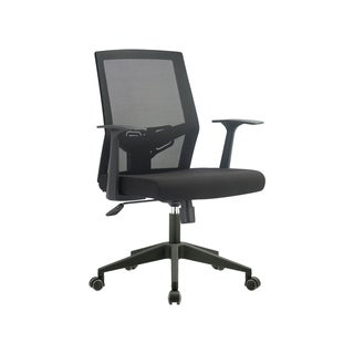 FCD Mid Back Mesh Multi Function Office Ergonomic Chair, Black