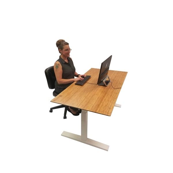 Boonliving Electronic Height Adjustable Desk Frame, Sit / Stand Desk  Ergonomic Workstation With Dual Motor