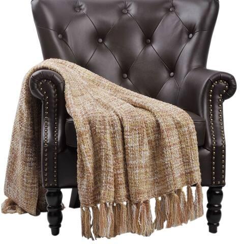 BOON Throw Blanket Woven Naga Throw