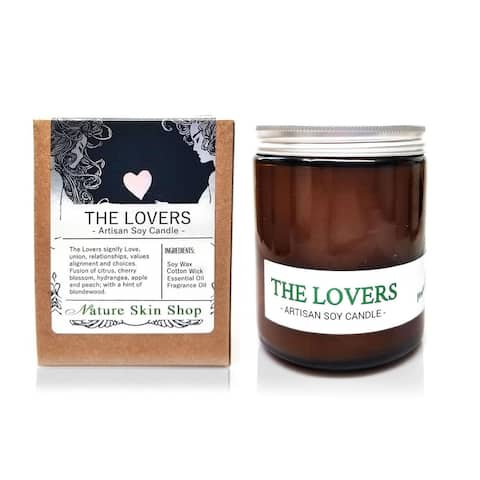 Handmade The Lovers Artisan Soy Candle