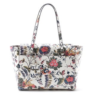 Tory Burch Parker Leather Floral Tote, Gabriella Floral TORY-39594-965