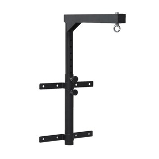 Soozier Heavy Bag Boxing Wall Mount Hanger - Black