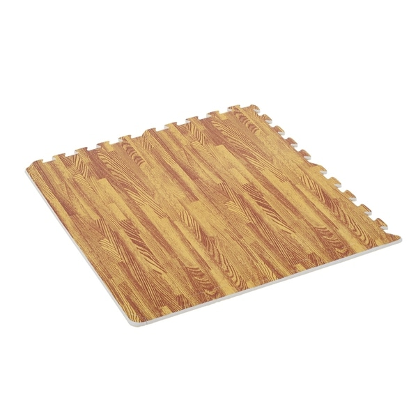 Wood Floor Padding Wood Foam Floor: Shop Soozier Interlocking Puzzle Foam Floor Tile Mats