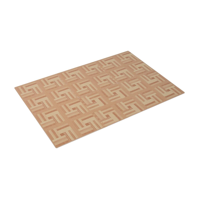 Soozier Interlocking Puzzle Foam Floor Tile Mats - light ...