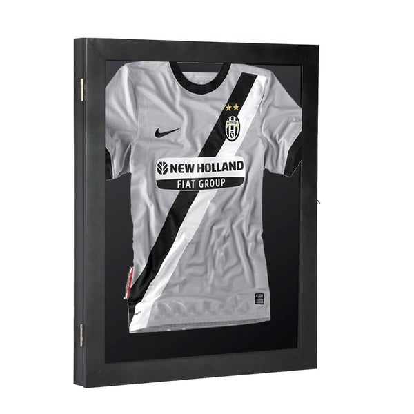 Shop HomCom Jersey Frame Display Case Shadow Box - On Sale - Free ...