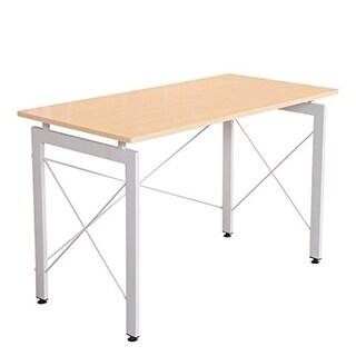 HomCom Office Workstation Computer Table Desk