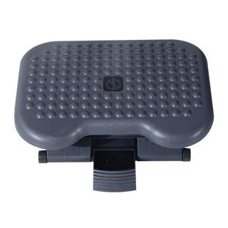 HomCom Height Adjustable Tilting Footrest