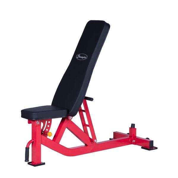 Wondrous Shop Soozier 10 Position Adjustable Home Fitness Weight Creativecarmelina Interior Chair Design Creativecarmelinacom
