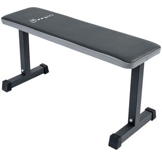 Soozier Flat Exercise Weight Bench - Black