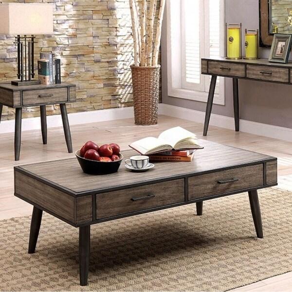 Shop Vilhelm Ii Mid Century Modern Coffee Table In Gray Free