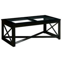 Sonya Contemporary Coffee Table In Black