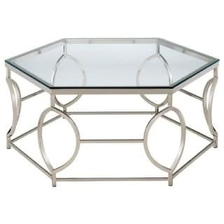 Zola Geometric Shape Contemporary Style Coffee Table
