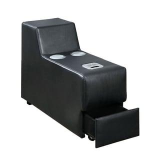 Floria Contemporary Speaker Console, Black