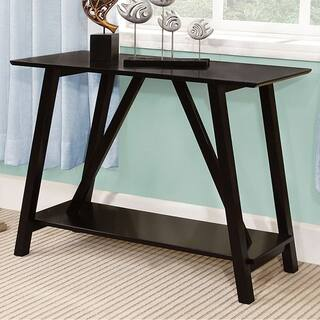 Elgg Contemporary Style Black Finish Hallway Entry Console Table|https://ak1.ostkcdn.com/images/products/18020754/P24189227.jpg?impolicy=medium