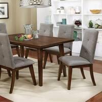 Abelone Rectangular Walnut Dining Table
