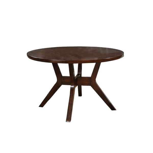 15d4421bbee59 Shop Abelone Mid-Century Modern Round Dining Table