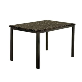 Colman Modern Dining Table In Black
