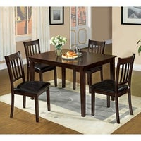Shop Boulder Creek Brown Finish Dining Table - Free Shipping Today ...
