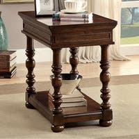 Darla Traditional  Side Table