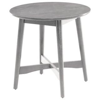 Mei Mid-Century Modern End Table, Gray