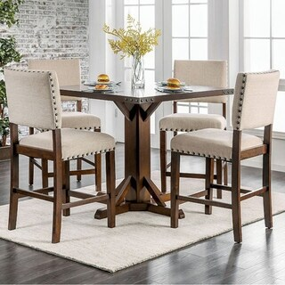 Glenbrook Brown Cherry Counter Height Dining Table