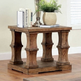 Granard Transitional End Table In Natural Tone
