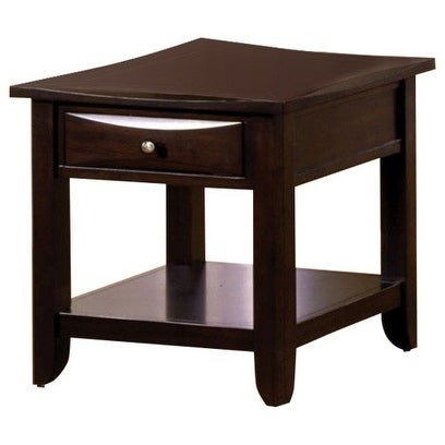 Baldwin Transitional End Table Espresso Finish