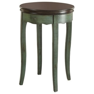 Molly Vintage Side Table, Green