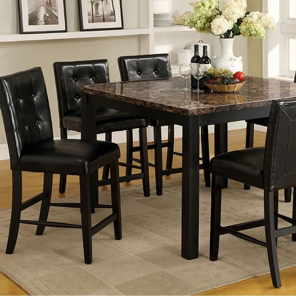 Boulder ii contemporary square counter height table black free boulder ii contemporary square counter height table black watchthetrailerfo