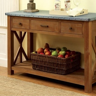 Walsh Industrial Style Server, Natural Tone