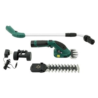 MCombo Lithium-Ion Cordless 2-in-1 Hedge Trimmer/Grass Shear Combo