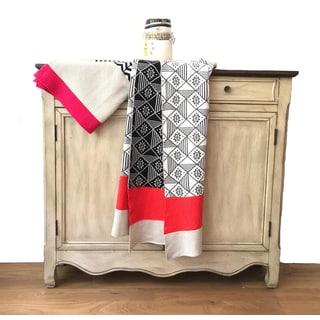 Elana Collection Luxury Multi Knit Cotton Throw