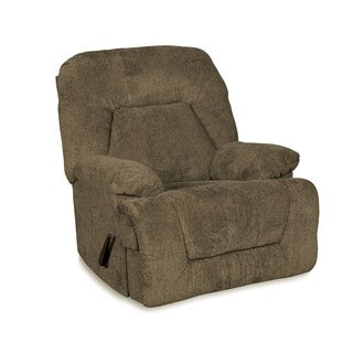 Modern & Comfortable Madison Rocker Recliner (Option: Silver)