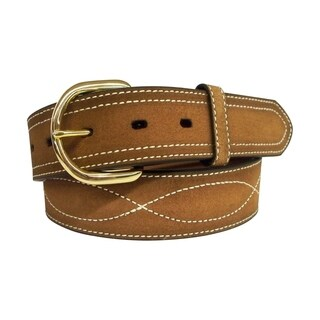G-BAR-D Men's 1 1/2 Inch Genuine Leather Belt