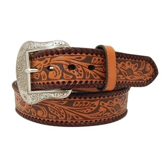 "Roper Men's 1 1/2"" Genuine Leather Belt"