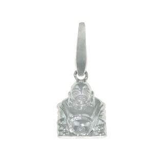 Isla Simone Fine Polished 925 Sterling Silver Zen Buddha Charm Jewelry