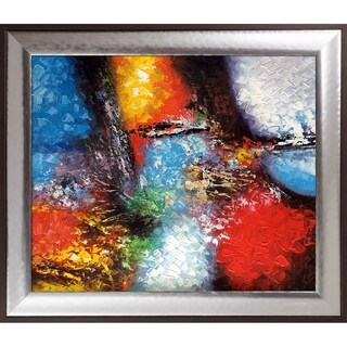 Celito Medeiros 'Abstract I' Hand Painted Oil Reproduction