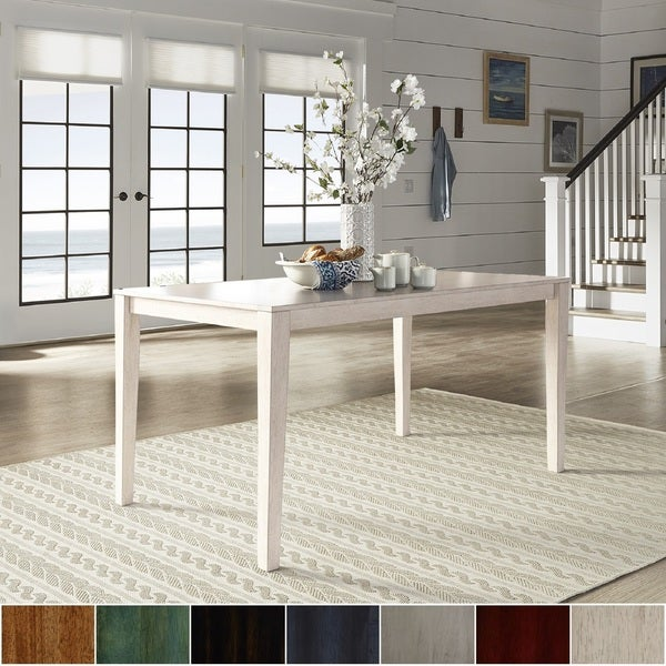 Wilmington II 60 Inch Rectangular Dining Table By INSPIRE Q Classic