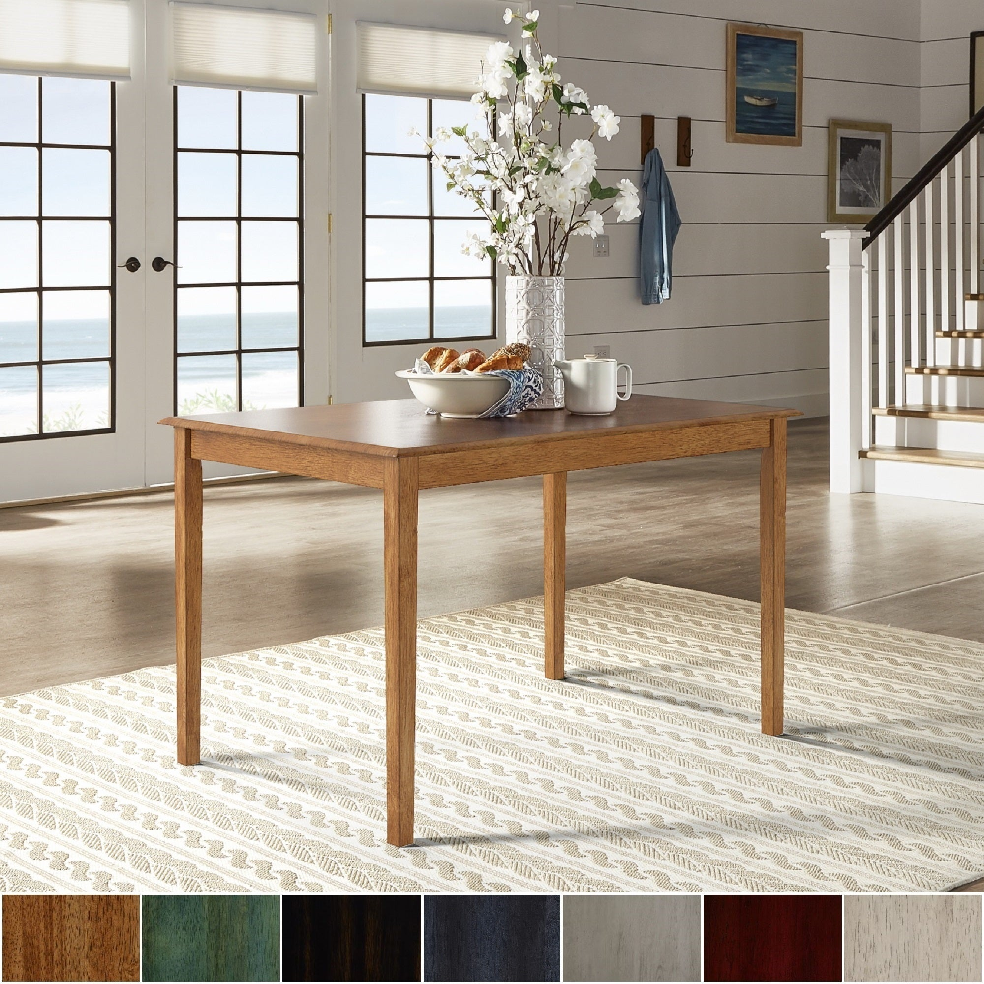Details About Wilmington Ii 48 Inch Rectangular Dining Table By Inspire Q