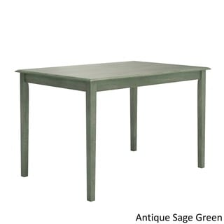 iNSPIRE Q Wilmington II 48-inch Rectangular Dining Table by  Classic (Green)