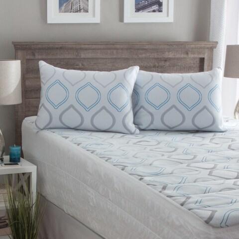 Hanes Performance Knit ComfortSoft Hypoallergenic Down Alternative Pillow - White