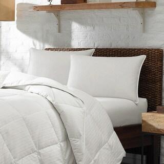 Soft Density Stomach Sleeper Down Pillow - White